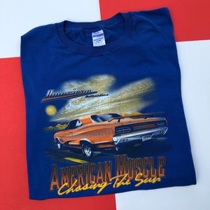 VTG AMERICAN MUSCLE CAR GRAPHIC TEE